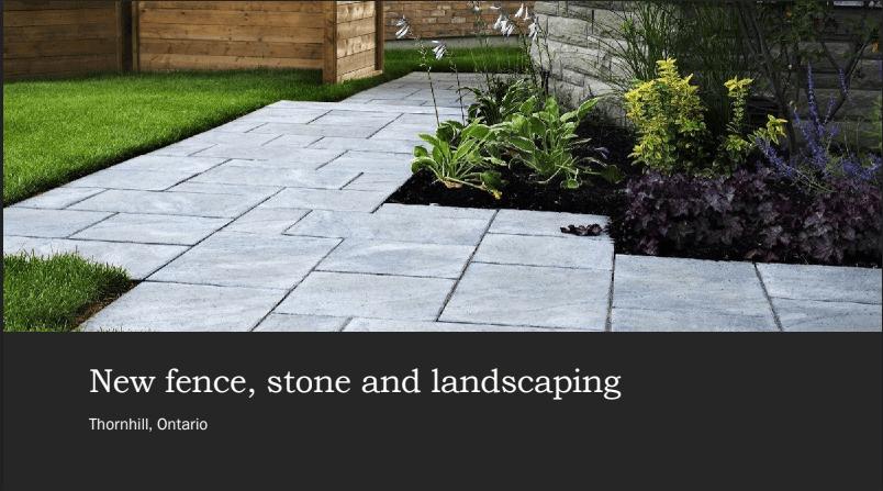 interlocking stone by amaris group in markham