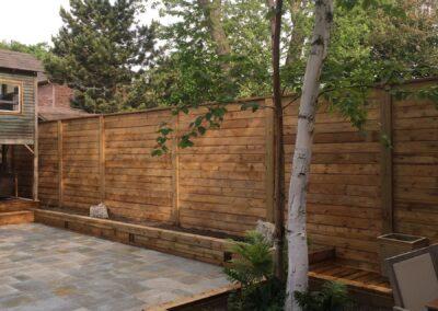 Deck & Landscaping