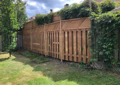 backyard fence installation Toronto