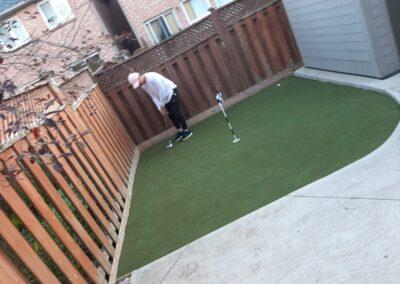 Backyard Golf & Landscaping